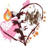 Love dragon Royalty Free Stock Image