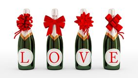 Love drink concept. Royalty Free Stock Image
