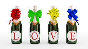 Love drink concept. Royalty Free Stock Photography