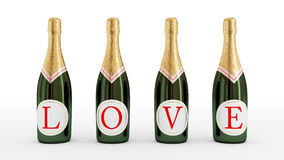 Love drink concept. Royalty Free Stock Photo