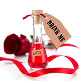 Love drink Stock Images