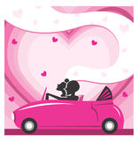 Love drives you away Royalty Free Stock Image