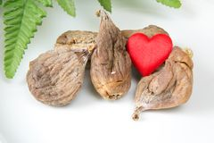 Love Dry organic figs Stock Image