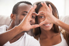 We love each other! Royalty Free Stock Photo
