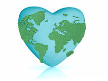Love the earth Stock Images