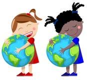 Love Earth royalty free illustration