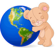 Love Earth Bear Stock Photos