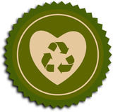 Love ecology Royalty Free Stock Image