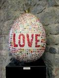 Love egg Stock Images