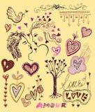 Love elements Stock Photos