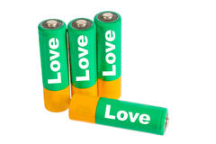 Love Energy Stock Photo