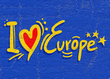 Love Europe Stock Image