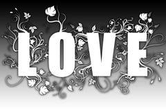 Love - evolution text Stock Photos