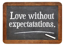 Love without expectations Stock Images