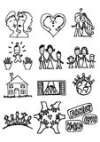 Love and family Royalty Free Stock Images