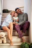 Love in family stock photos