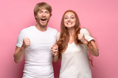 The love, family, sports, entretainment and happiness concept Royalty Free Stock Photo