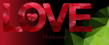 Love.14 february.Abstract bright, holiday backgrounds.Concept  for Valentines Day. Love. Valentines day. 14 february.Abstract bright, holiday backgrounds Stock Images