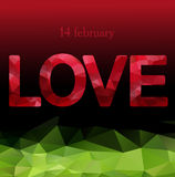 Love.14 february.Abstract bright, holiday backgrounds.Concept  for Valentines Day. Love. Valentines day. 14 february.Abstract bright, holiday backgrounds Royalty Free Stock Photography