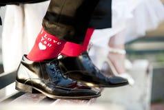Love feet Royalty Free Stock Photos