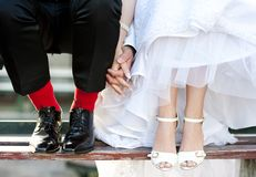 Love feet Stock Photography