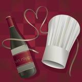 Love for Fine Dining vector illustration