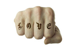 Love at first fight Royalty Free Stock Images