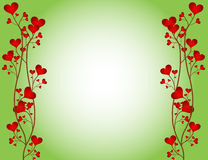 Love Flower Frame Stock Photos