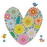 Love flower inside Royalty Free Stock Photos