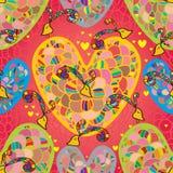 Love flower seamless pattern Stock Photo