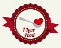 Love food Royalty Free Stock Photos