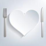 Love food Stock Photography