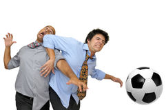 We love football Royalty Free Stock Photography