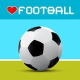 Love Football Theme Stock Photos