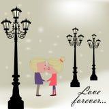 Love forever Stock Image