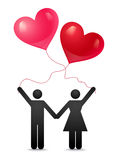 Love forever Royalty Free Stock Image
