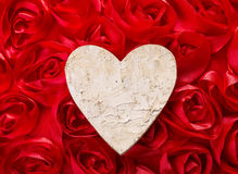 Love forever. Heart shape Royalty Free Stock Image