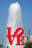Love fountain Stock Image