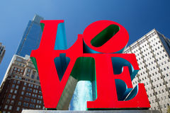 Love Fountain. Fountain in LOVE Park, Philadelphia, Pennsylvania royalty free stock images