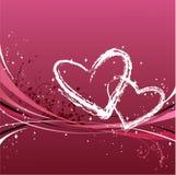 Love frame. St. Valentine's Day frame Stock Photos
