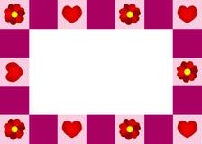 Love frame Stock Images