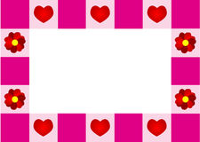 Love frame Royalty Free Stock Photo