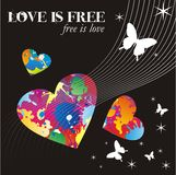 Love is free Stock Photography