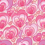 Love free feel seamless pattern Stock Photography