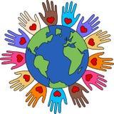Love freedom diversity Stock Image