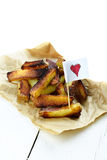 Love Fries Royalty Free Stock Images