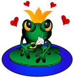 Love Frog Stock Images
