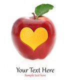 Love fruits Stock Image