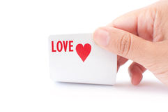 Love gamble stock photo