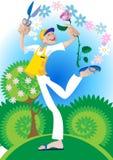 Love Gardener Royalty Free Stock Image